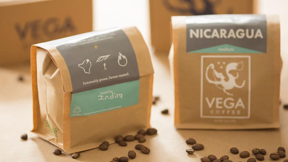 vega coffee direct to consumer brand