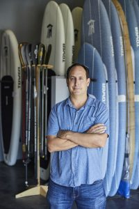 Stephan Aarstol Founder of Tower Paddle Boards