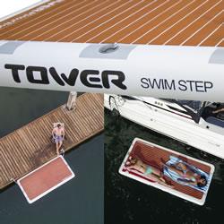 Swim Step by Tower