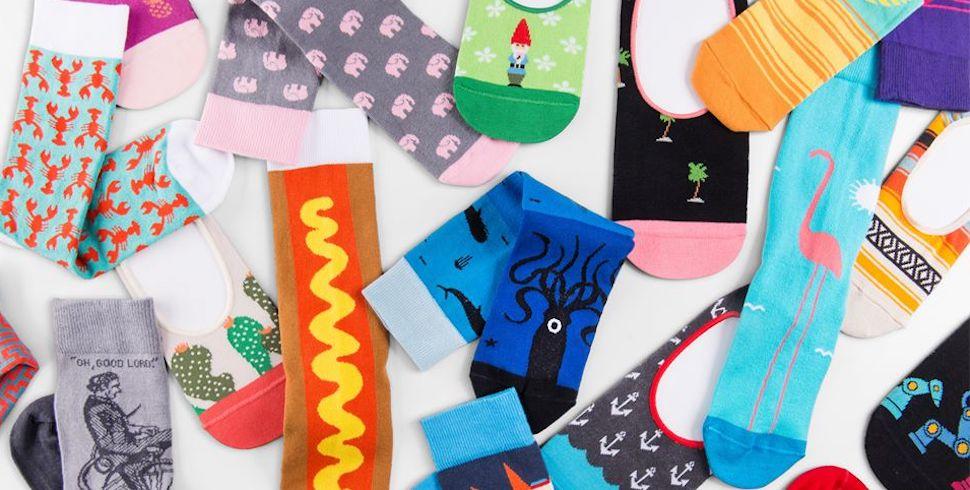 Foot Cardigan Socks