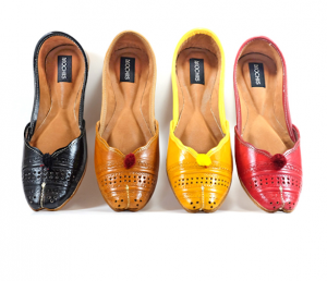 Mochiis Womens Leather Flats