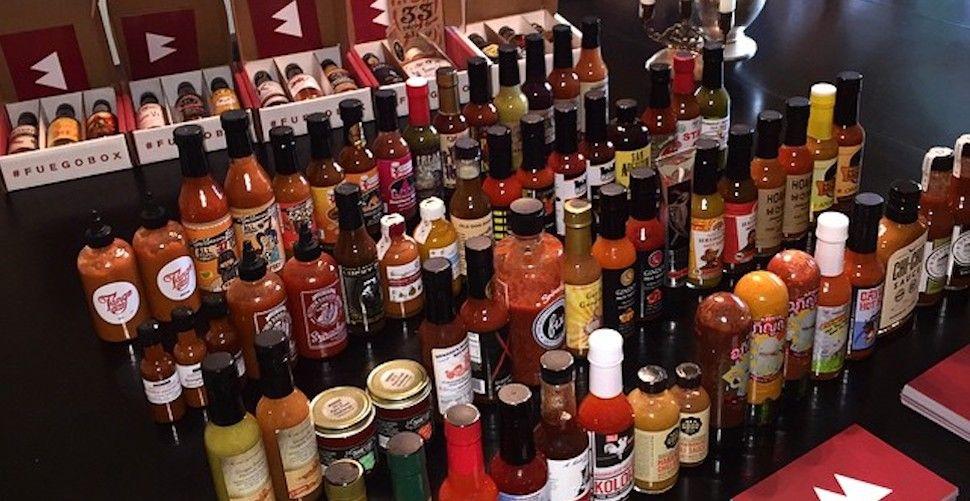 Fuego Box Hot Sauce Box